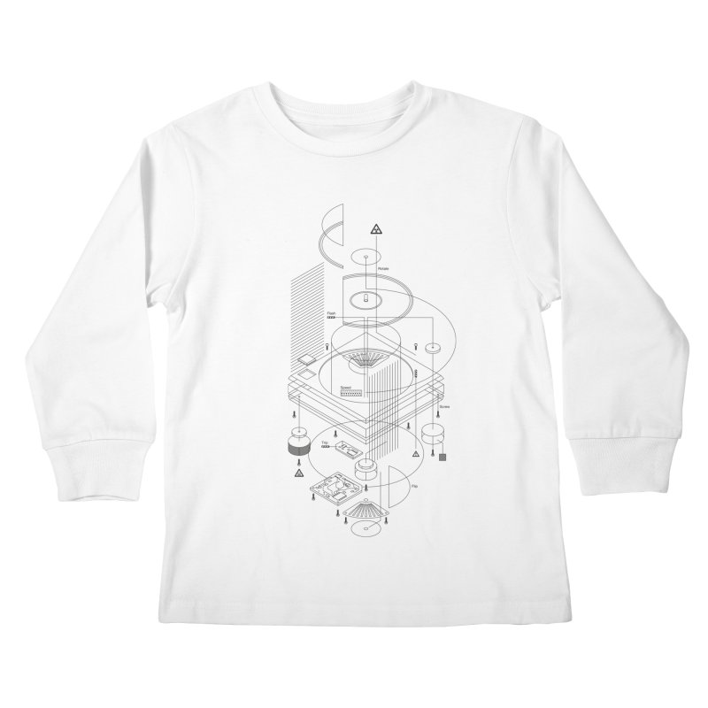 Slick1200alt Kids Longsleeve T-Shirt by euphospug