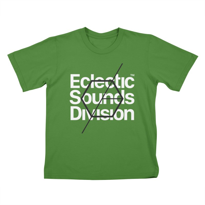 ESD with Text Kids T-shirt by euphospug