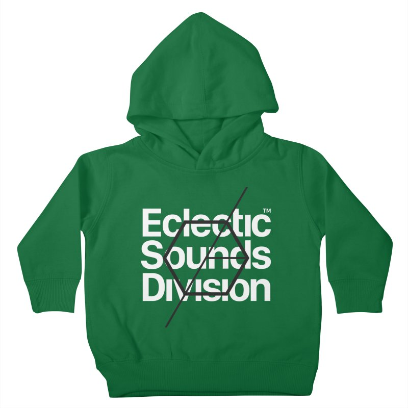 ESD with Text Kids Toddler Pullover Hoody by euphospug