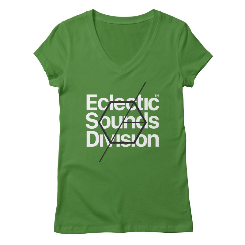 ESD with Text Women's V-Neck by euphospug
