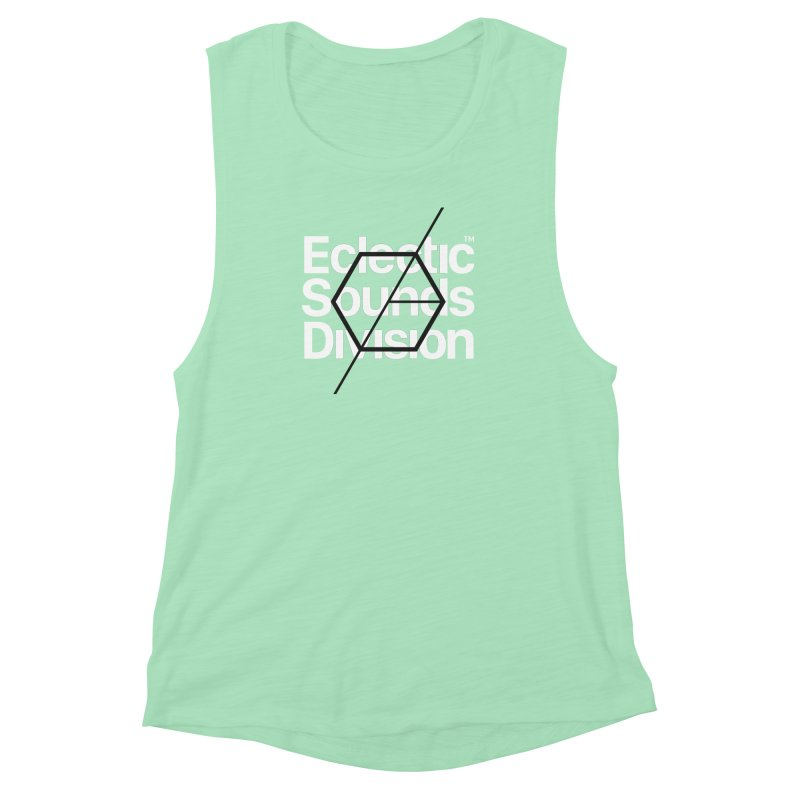 ESD with Text Women's Muscle Tank by euphospug