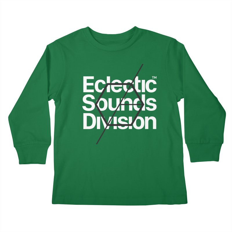 ESD with Text Kids Longsleeve T-Shirt by euphospug