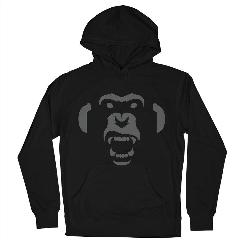AngryMonkeyLabelLogo01 Men's Pullover Hoody by euphospug