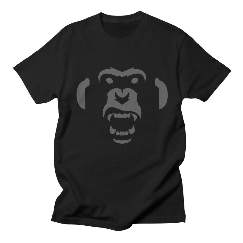 AngryMonkeyLabelLogo01 Men's T-shirt by euphospug