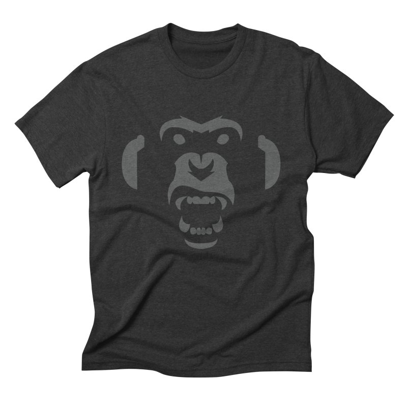 AngryMonkeyLabelLogo01 Men's Triblend T-Shirt by euphospug