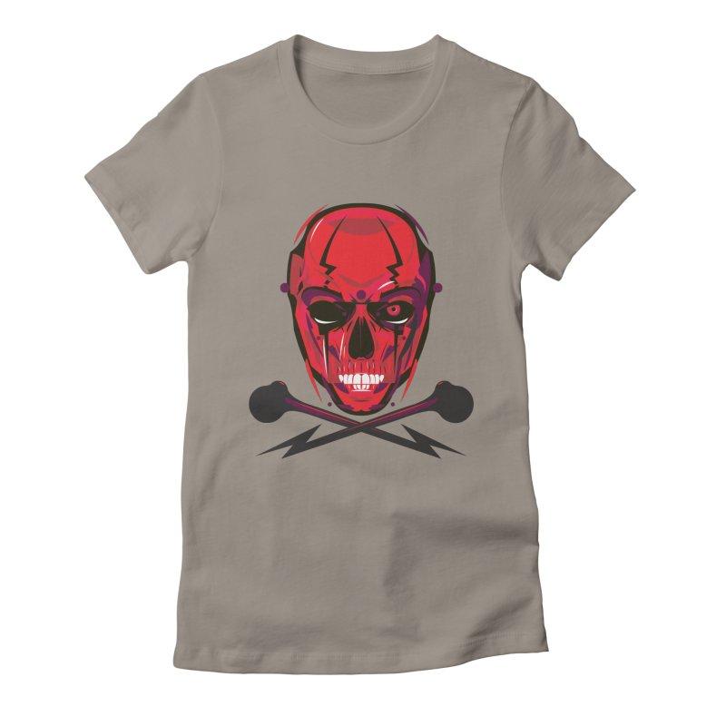 Red Skull and Cross Bones   by euphospug