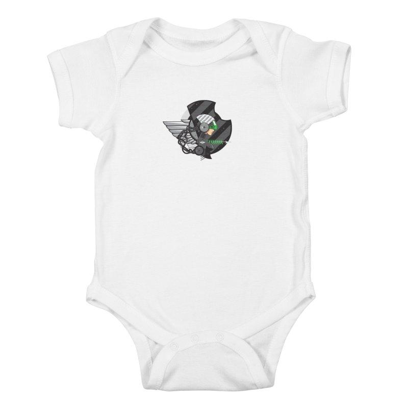 Future Flyer Kids Baby Bodysuit by euphospug
