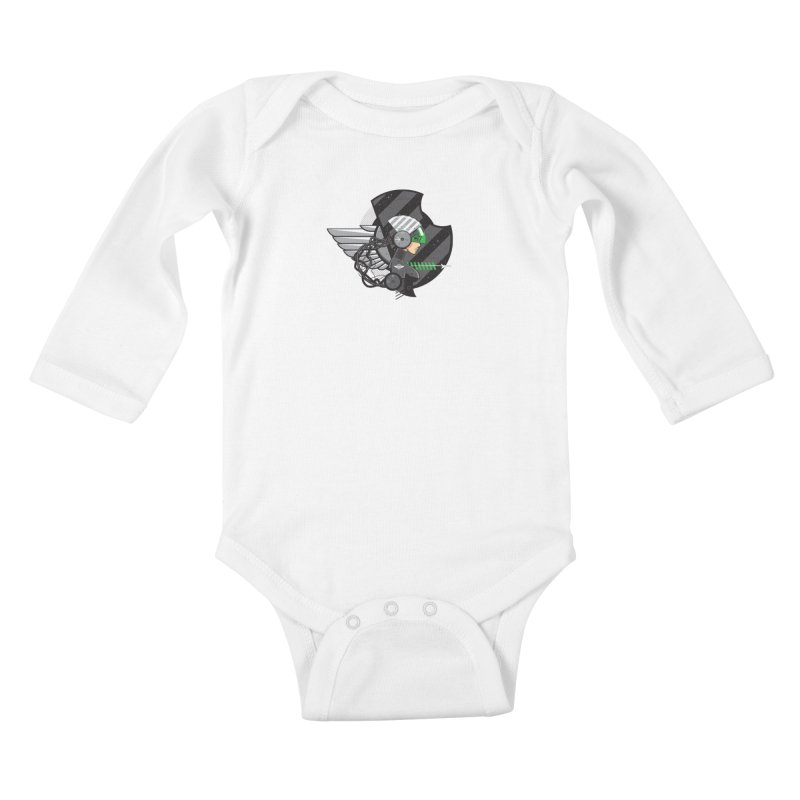 Future Flyer Kids Baby Longsleeve Bodysuit by euphospug