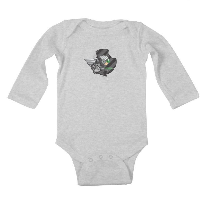 Future Flyer Kids Baby Longsleeve Bodysuit by euphospug