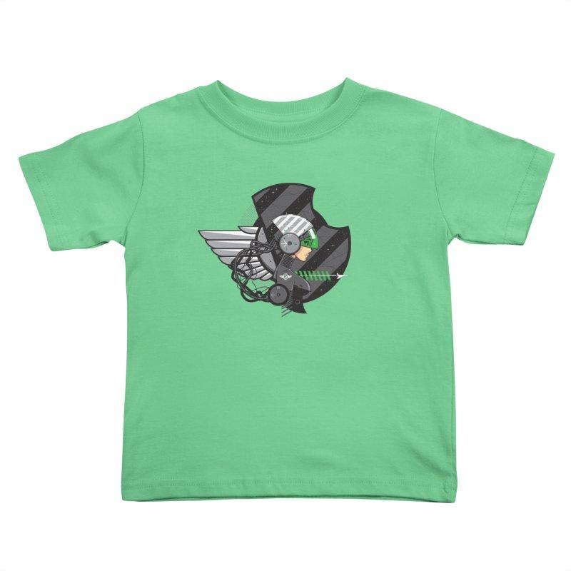 Future Flyer Kids Toddler T-Shirt by euphospug