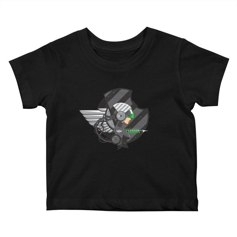 Future Flyer Kids Baby T-Shirt by euphospug