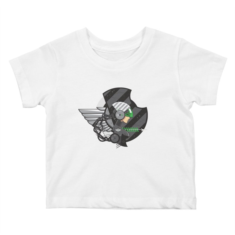 Future Flyer Kids Baby T-Shirt by euphospug