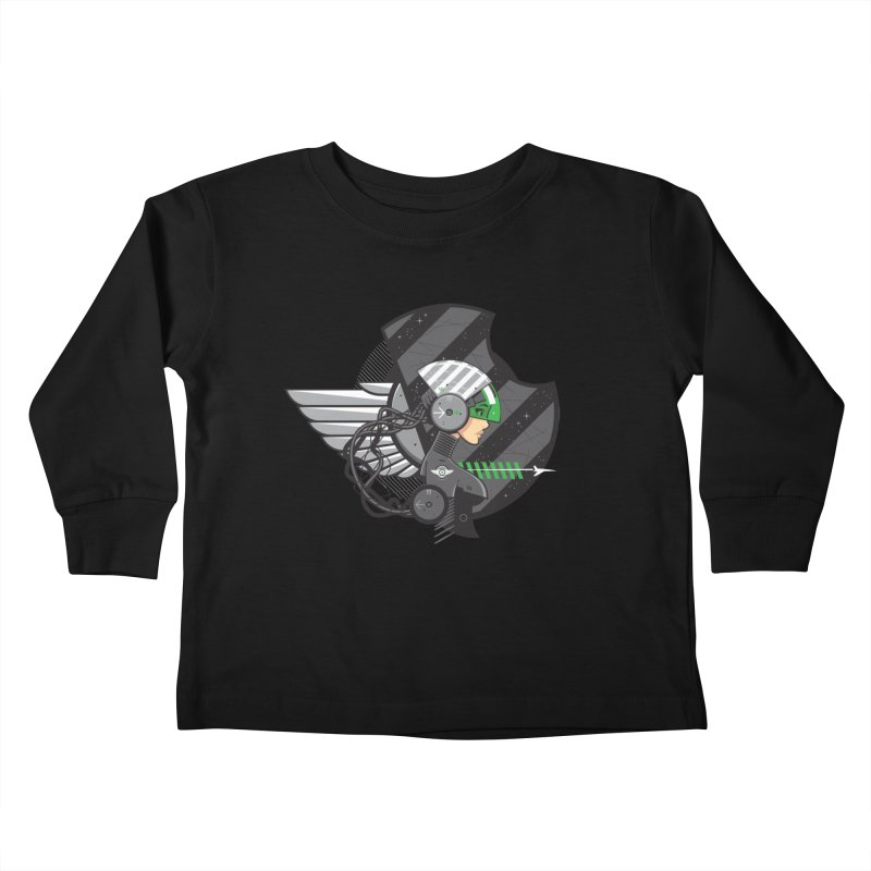 Future Flyer Kids Toddler Longsleeve T-Shirt by euphospug