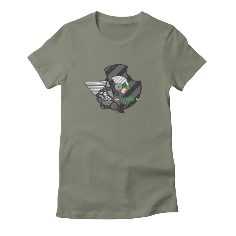 Future Flyer Women's Fitted T-Shirt by euphospug