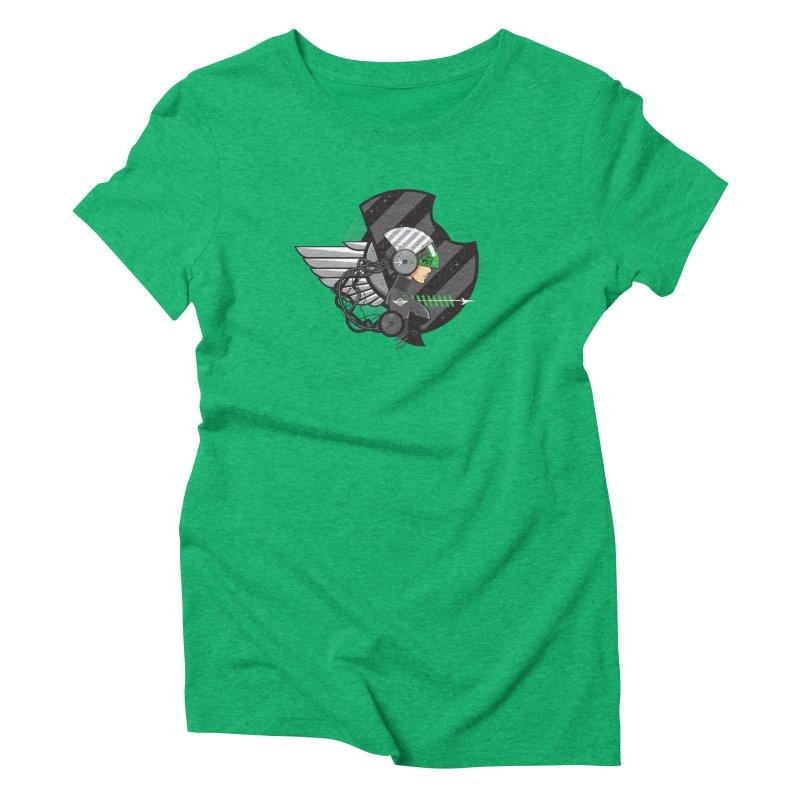 Future Flyer Women's Triblend T-shirt by euphospug