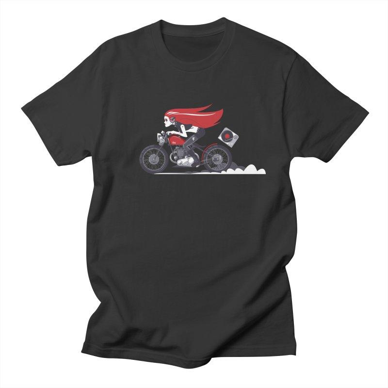 Portable Music Men's T-Shirt by euphospug