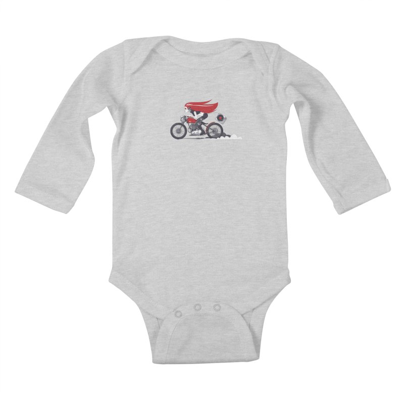 Portable Music Kids Baby Longsleeve Bodysuit by euphospug