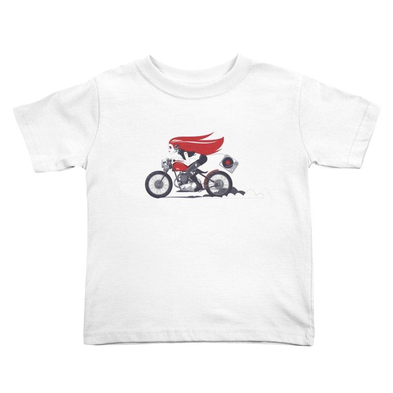 Portable Music Kids Toddler T-Shirt by euphospug