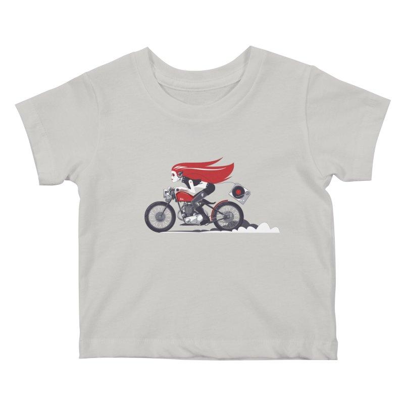 Portable Music Kids Baby T-Shirt by euphospug