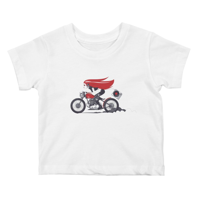 Portable Music Kids Baby T-Shirt by euphospug
