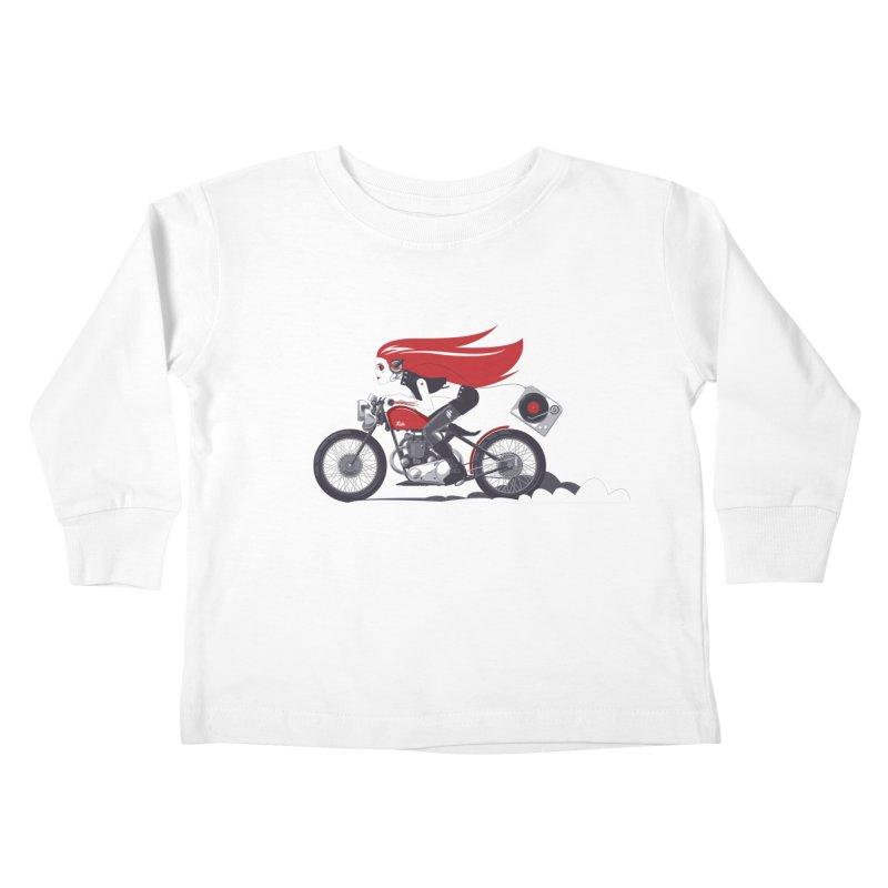 Portable Music Kids Toddler Longsleeve T-Shirt by euphospug