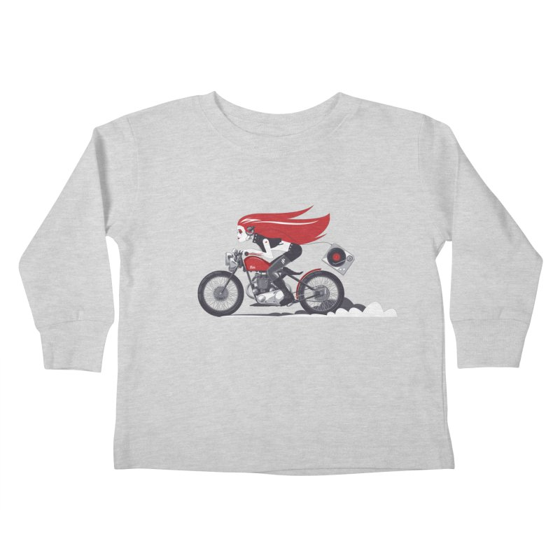 Portable Music Kids Toddler Longsleeve T-Shirt by euphospug