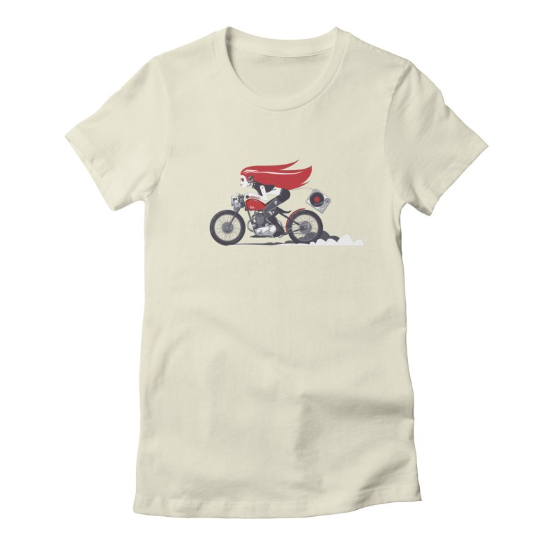 Portable Music Women's Fitted T-Shirt by euphospug