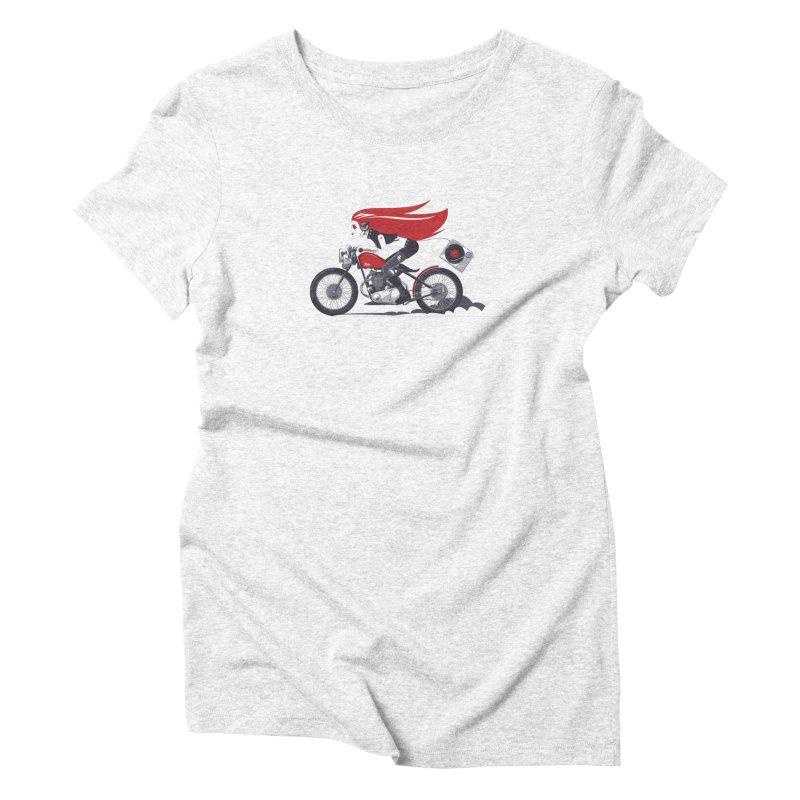 Portable Music Women's Triblend T-shirt by euphospug