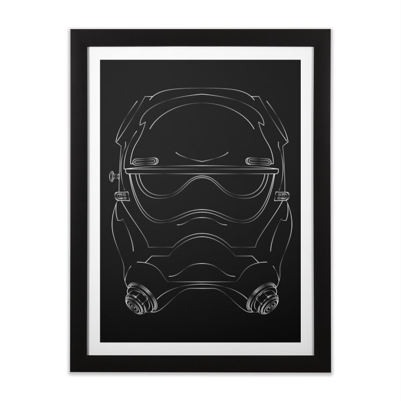 FirstOrder Home Framed Fine Art Print by euphospug