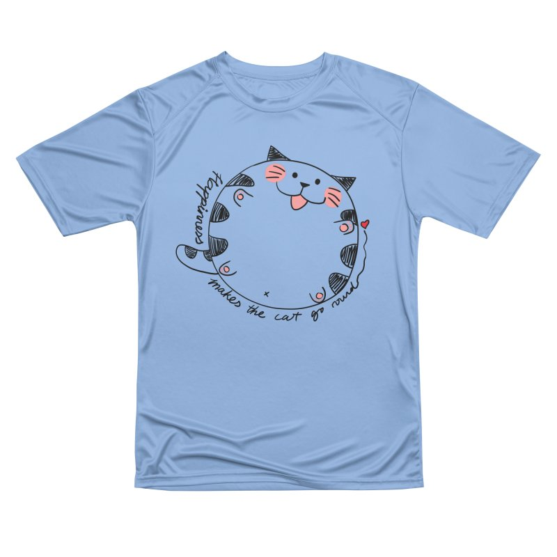Happiness makes the cat go round Men's T-Shirt by Evacomics Online Shop