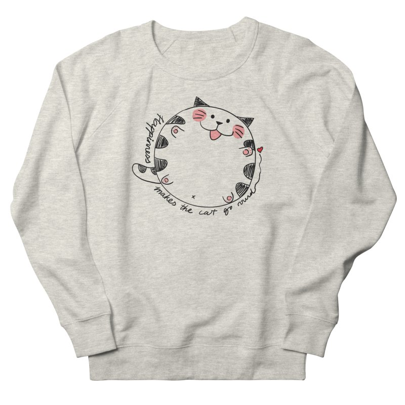 Happiness makes the cat go round Women's Sweatshirt by Evacomics Online Shop