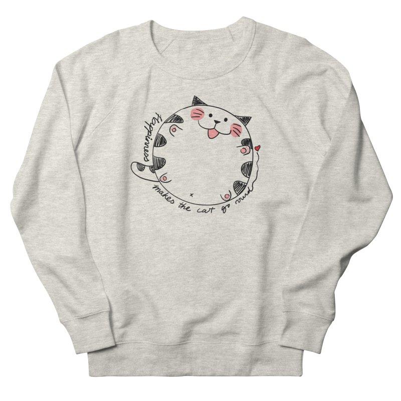 Happiness makes the cat go round Men's Sweatshirt by Evacomics Online Shop