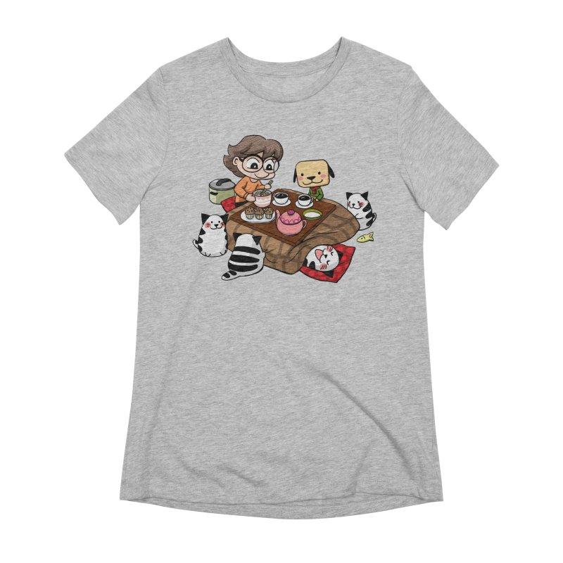 Kotatsu family Women's T-Shirt by Evacomics Online Shop