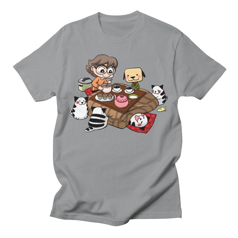 Kotatsu family Men's T-Shirt by Evacomics Online Shop