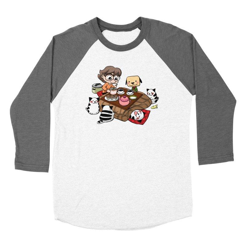 Kotatsu family Women's Longsleeve T-Shirt by Evacomics Online Shop