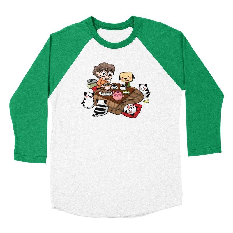 Kotatsu family Men's Longsleeve T-Shirt by Evacomics Online Shop