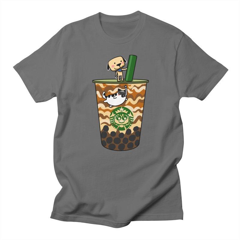 Boba Bubble tea Men's T-Shirt by Evacomics Online Shop