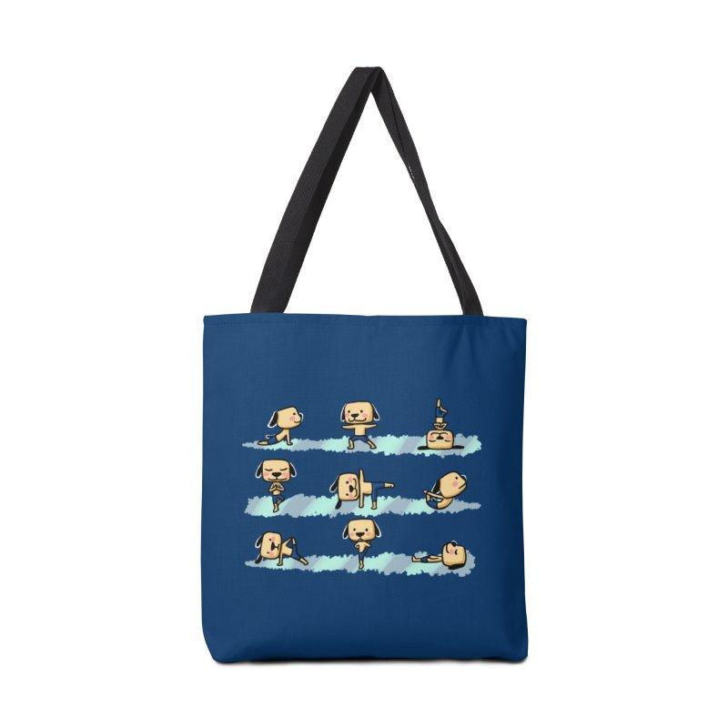 Dog yoga Accessories Bag by Evacomics Online Shop