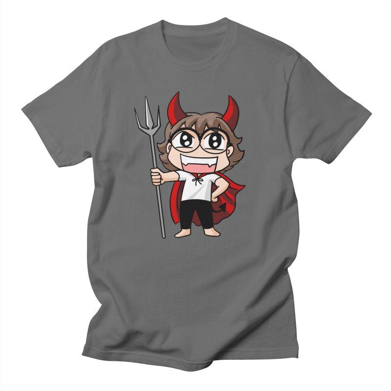 Eva Devil Men's T-Shirt by Evacomics Online Shop