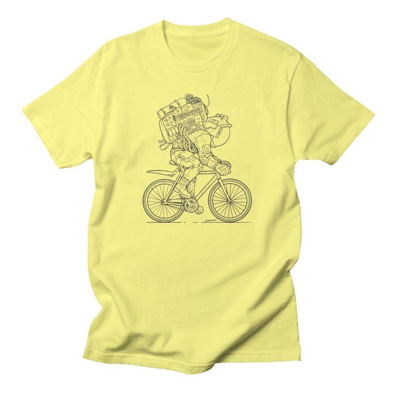 Fixie (Light Background) Men's T-Shirt by EvanArt Shop