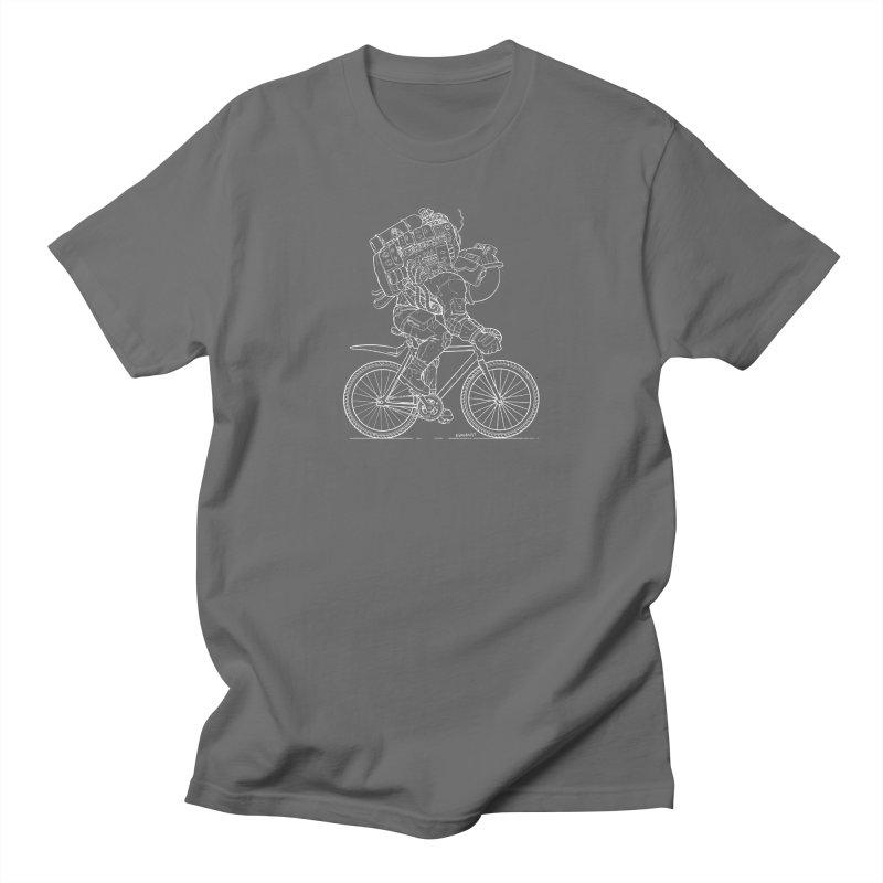 Fixie (Dark Background) Men's T-Shirt by EvanArt Shop