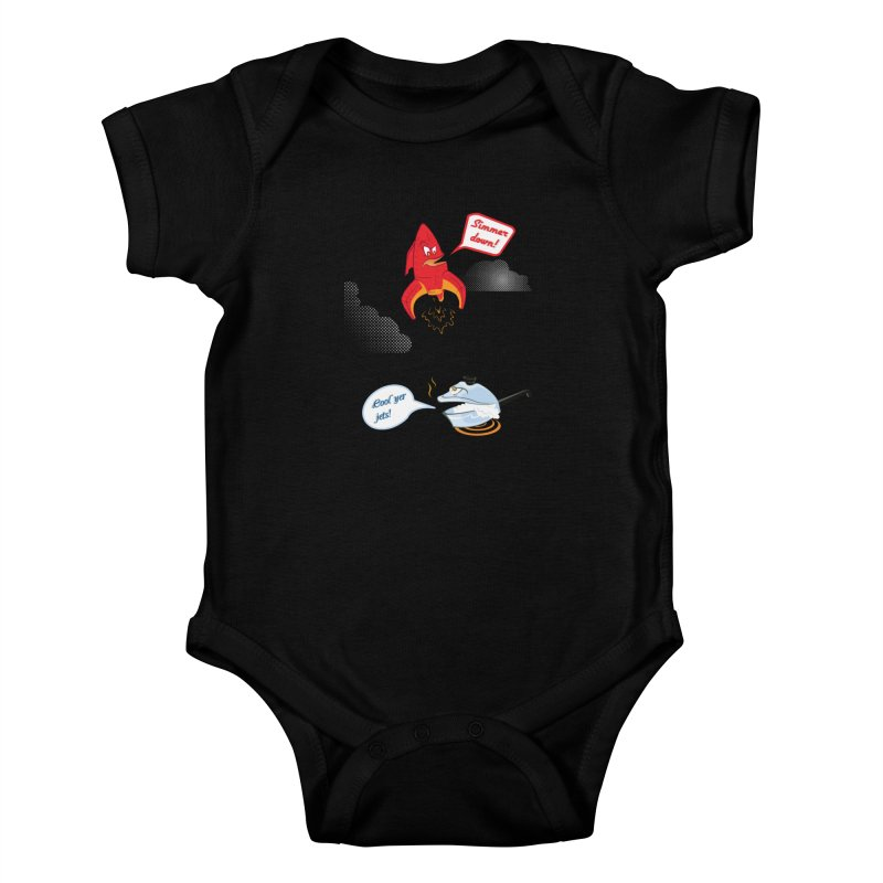 What A Punny Day Kids Baby Bodysuit by Evan Ayres