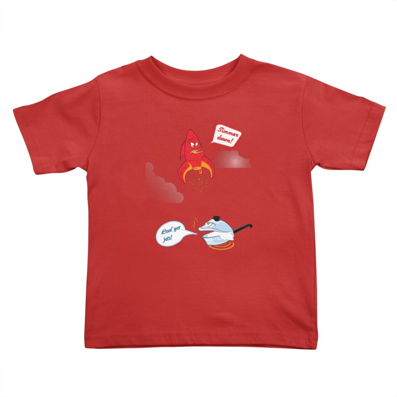 What A Punny Day Kids Toddler T-Shirt by Evan Ayres Design