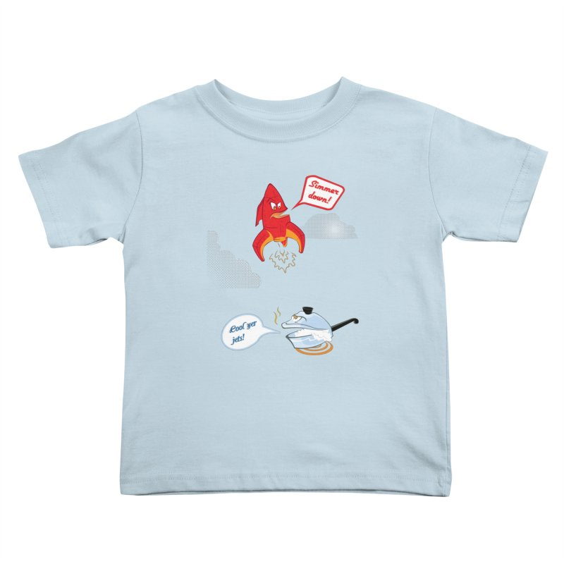 What A Punny Day Kids Toddler T-Shirt by Evan Ayres