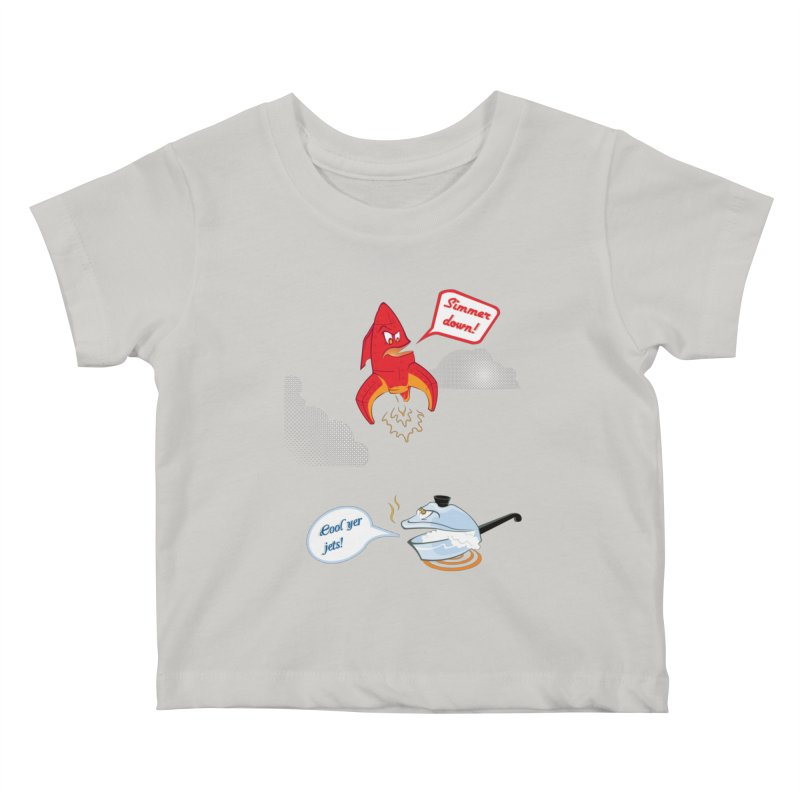 What A Punny Day Kids Baby T-Shirt by Evan Ayres