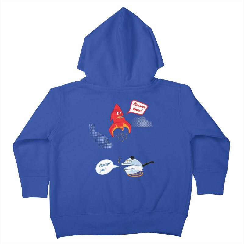 What A Punny Day Kids Toddler Zip-Up Hoody by Evan Ayres Design