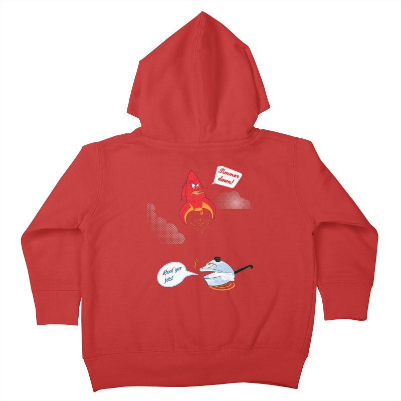 What A Punny Day Kids Toddler Zip-Up Hoody by Evan Ayres