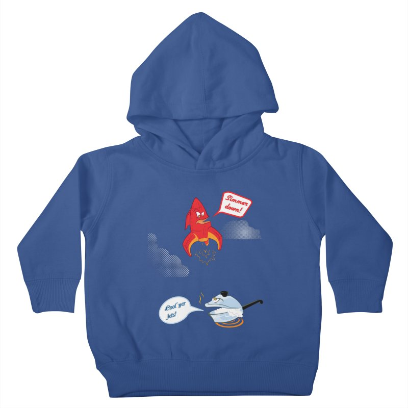 What A Punny Day Kids Toddler Pullover Hoody by Evan Ayres