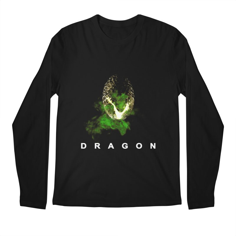 D R A G O N Men's Longsleeve T-Shirt by Evan Ayres
