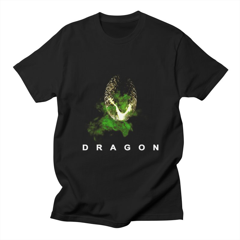 D R A G O N Men's T-shirt by Evan Ayres